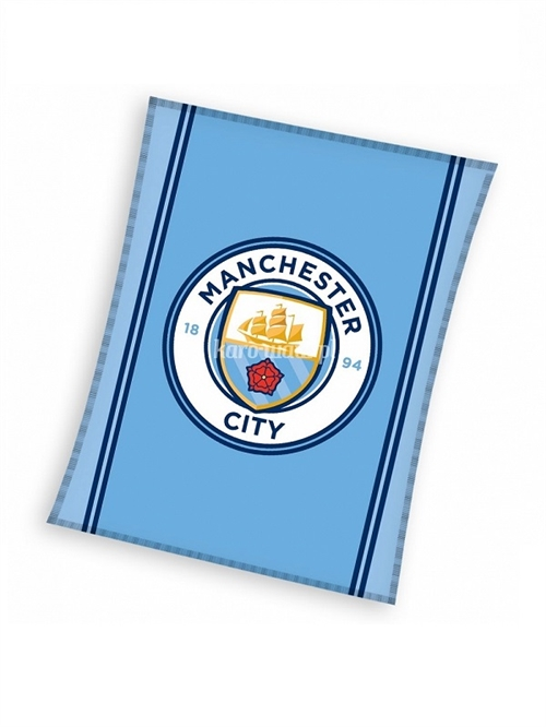 Manchester City fleecetæppe