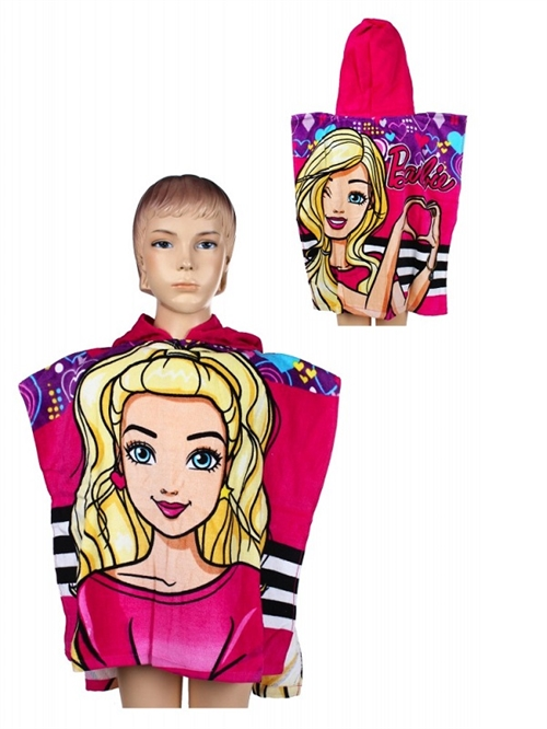 Barbie badeponcho