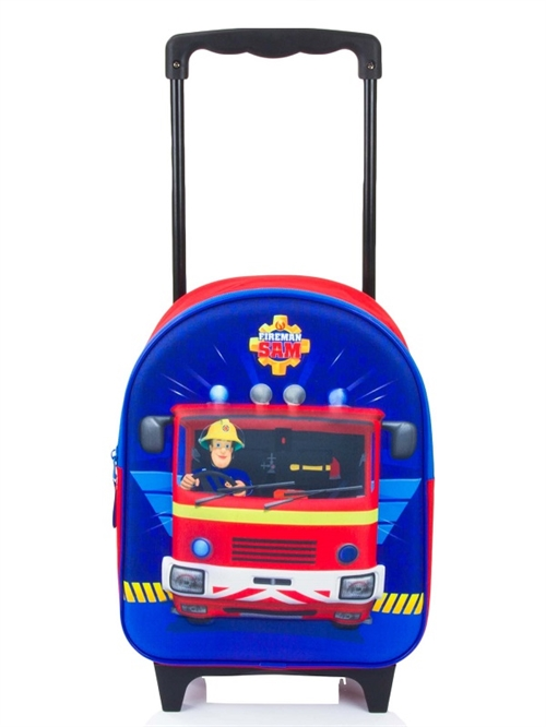Brandmand Sam trolley  3D , 32 cm