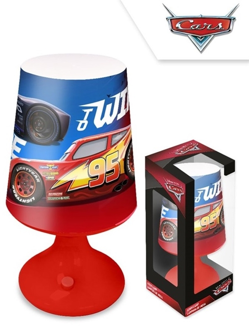 Disney Cars MCQueen LED lampe