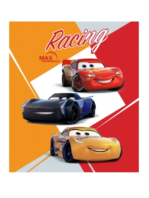 Disney cars McQueen fleecetæppe
