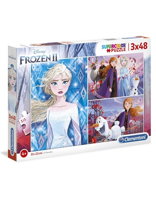 Disney Frost 2 puslespil 3 in 1