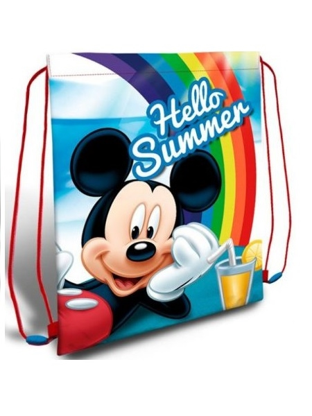 Disney Mickey gymnastiktaske , Hello Summer