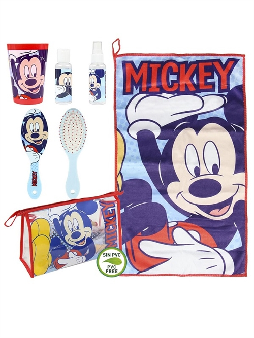 Disney Mickey Mouse toilettaske med indhold