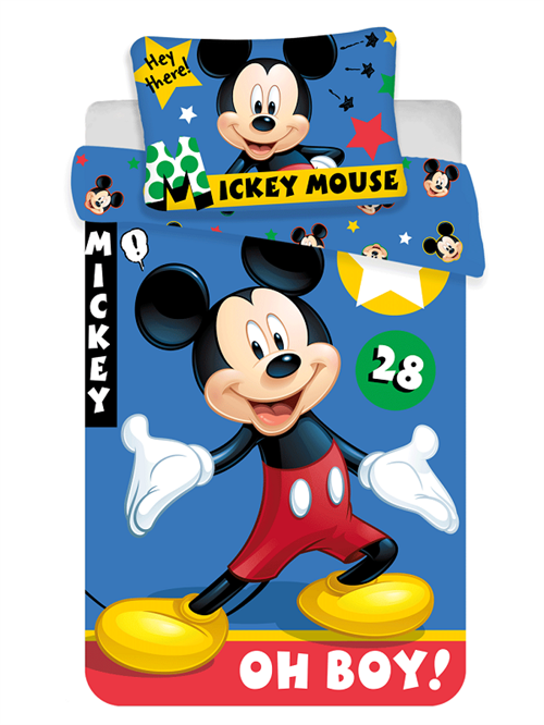 Disney Mickey junior sengetøj , Oh Boy !