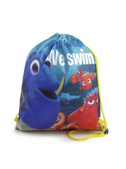 Disney Nemo og Dory gymnastiktaske, We swim