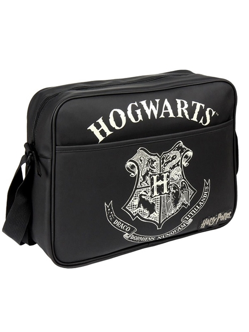 Harry Potter skuldertaske , Hogwarts , sort