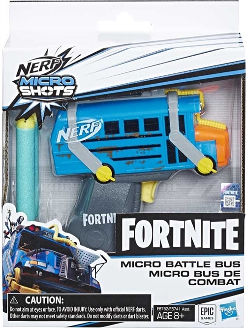 Fortnite Nerf Micro Battle Bus