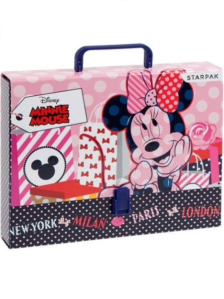 Disney Minnie opbevarings mappe A4