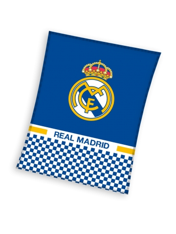 Real Madrid fleece tæppe