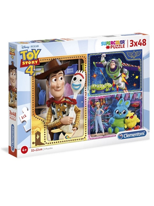 Toy Story puslespil 3 in 1